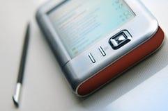 PDA se cierran para arriba. Imágenes de archivo libres de regalías