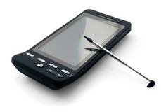 PDA and stylus royalty free stock photo
