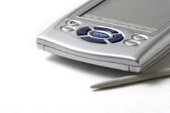 PDA in su si chiudono fotografia stock libera da diritti