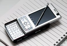 Pda Telefon Stockbilder