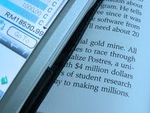 PDA u. Dokument Lizenzfreies Stockfoto