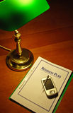 PDA Unternehmensplan #01 Stockfotografie