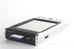 PDA y tarjeta de memoria Fotografía de archivo