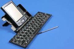 PDA y teclado Imagen de archivo libre de regalías