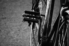 Pédale de vélo Image libre de droits