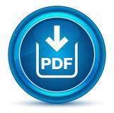 PDF文件下载象眼珠蓝色圆的按钮 库存例证