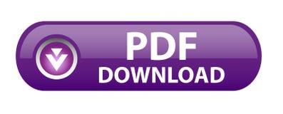 PDF ściągania guzik Zdjęcia Stock