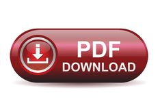 PDF Download buttton Royalty Free Stock Photos