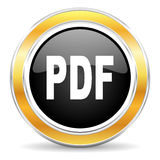 PDF ikona Fotografia Royalty Free