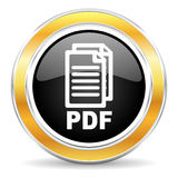 pdf ikona, Fotografia Royalty Free