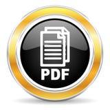 pdf-symbol, royaltyfri fotografi