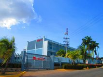 PDVSA office Royalty Free Stock Photos