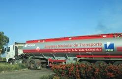 PDVSA-Vrachtwagen Royalty-vrije Stock Afbeeldingen