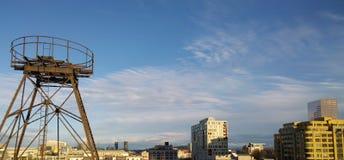 PDX linia horyzontu Zdjęcia Stock