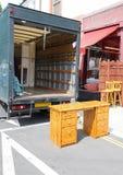 - pędząca ciężarówka Zdjęcie Royalty Free
