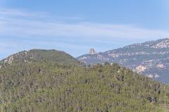 Peña Amuso, Cazorla Naturla parkerar, Jaen, Spanien Arkivfoto