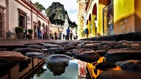 Peña de Bernal, Queretaro Μεξικό στοκ εικόνες με δικαίωμα ελεύθερης χρήσης
