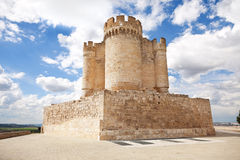 Peñafiel castle, Valladolid, Spain Royalty Free Stock Photos