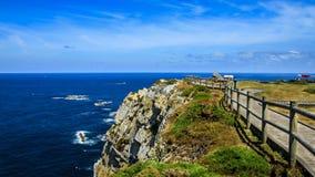 Peñaskaap, Asturias Spanje royalty-vrije stock foto
