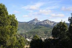 Peñagolosa山 免版税图库摄影