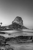Peñon de Ifach - Calp - Spanien Arkivfoto