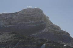 Peña Orroel, Jaca, de Pyreneeën Royalty-vrije Stock Foto