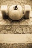 Peça central do outono fotografia de stock royalty free