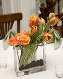 Peça central floral Imagens de Stock Royalty Free