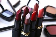 Peça cosmética para a beleza da face Foto de Stock Royalty Free