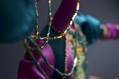 Peça da boneca feito a mão Imagens de Stock Royalty Free