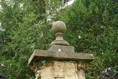 Peça da cerca no parque Imagem de Stock Royalty Free