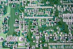 Peça da placa de circuito eletrônico Foto de Stock Royalty Free