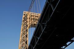 Peça da ponte de George Washington Fotos de Stock