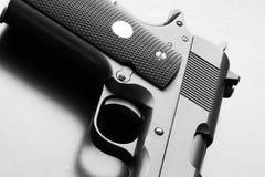 Peça de .45 pistola do calibre. Imagens de Stock