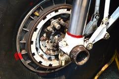 A peça de motor dos aviões BT-67 roda e quebra Imagem de Stock Royalty Free
