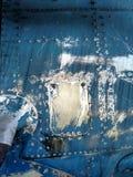 peça de um avião velho Foto de Stock Royalty Free