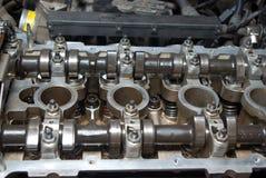 Peça de um motor de automóveis. fotos de stock royalty free