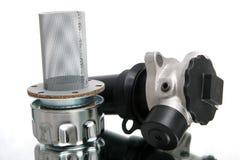 Peça do calefator da construção hidráulica imagem de stock