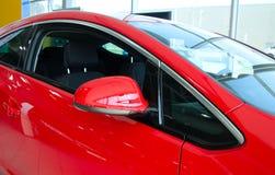 Peça do carro vermelho fotos de stock
