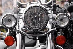 Peça do farol da motocicleta fotografia de stock royalty free