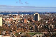 Peça do leste de Hamilton, Ontário da vista geral, Fotografia de Stock Royalty Free