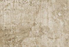 Peça do muro de cimento com emplastro fraco da construção velha toning imagens de stock