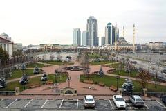 Peça entral do ¡ de Ð da cidade de Grozny Fotos de Stock Royalty Free