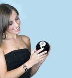 Peça a esfera oito mágica imagem de stock
