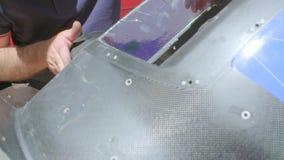 Peça sobresselente automotivo do carbono filme