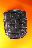 Peça sobresselente do telefone móvel - teclado imagem de stock