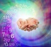 Peça um Numerologist a orientação fotos de stock royalty free
