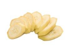 Peças da banana Imagens de Stock Royalty Free