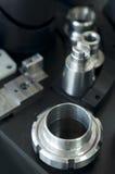 Peças da máquina do metal fotografia de stock
