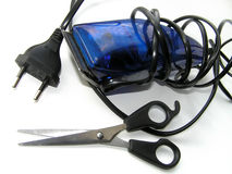 Peças da preparação do cabelo Fotografia de Stock Royalty Free